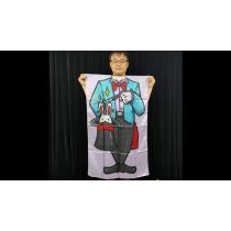 Character Silk (Magician) 35 X 43  by JL Magic - Trick