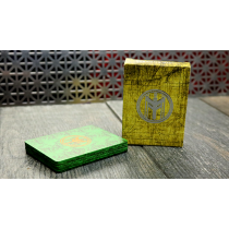FIBER BOARDS Cardistry Trainers (Emerald Green) by Magic Encarta - Trick