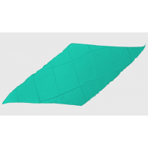 Diamond Cut Silk 18 inch (Turquoise) by Magic By Gosh - Seidentuch