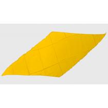 Diamond Cut Silk 18 inch (Yellow) by Magic by Gosh - Seidentuch