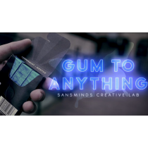 Gum to Anything (Gimmicks and Online Instructions) by Sansminds Magic