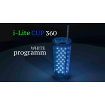 I-Lite Cup 360 White by Victor Voitko (Gimmick and Online Instructions)