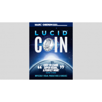 LUCID COIN (Gimmick and Online instructions)by Marc Oberon