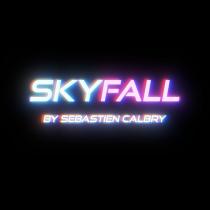 SKY FALL RED by Sebastien Calbry