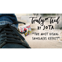 Truly Tied WHITE (Gimmick and Online Instructions) by JOTA
