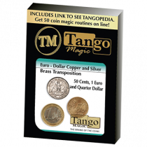 Euro-Dollar Silver/Copper/Brass Transposition (ED005) by Tango