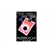 SUPER HOLE (BLUE) by Mickael Chatelain