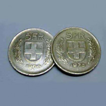 Double Side Coin 5 Francs