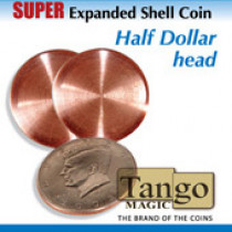 Super Expanded Shell Coin - Half Dollar Head