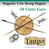 Magnetic Coin Strong Magnet 50 cents Euro (E0019) by Tango