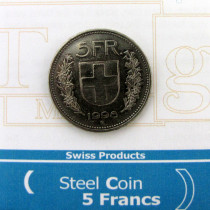 5 Francs - Steel Coin