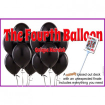 The Fourth Balloon by Quique Marduk