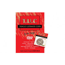 Tango Ultimate Coin (T.U.C)(D0108) Half dollar with instructional video by Tango