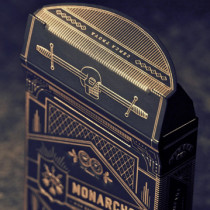 Monarch Playing Cards by Theory 11 schwarz