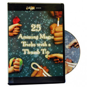 25 Amazing Tricks with a Thumb Tip - DVD