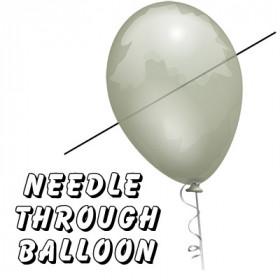 Needle Through Balloon Professional (Nadel durch Balloon) by Bazar de Magia