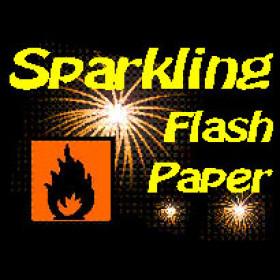 Sparkling Flash Paper