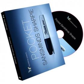 Pocket SansMinds Sharpie (DVD and Gimmick) by SansMinds