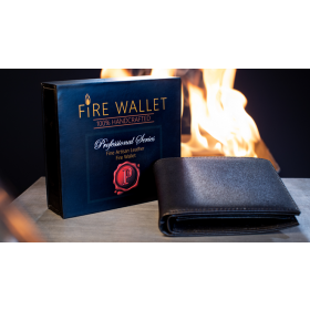 The Professional's Fire Wallet (Gimmick and Online Instructions) by Murphy's Magic Supplies Inc.