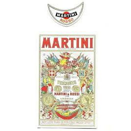 Label for Vanishing Bottle: Martini Rossi