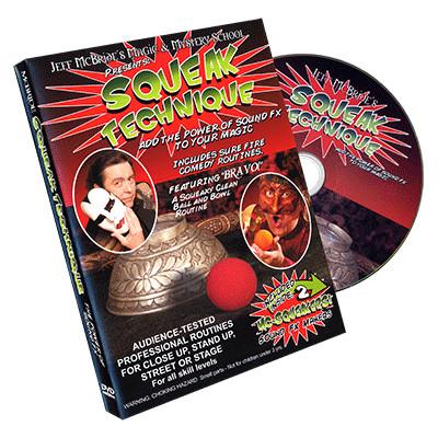 Squeak Technique (DVD and Squeakers) by Jeff McBride