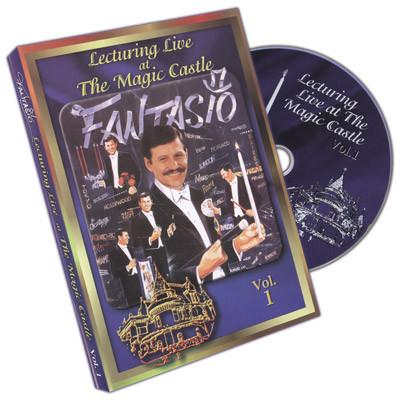Fantasio Lecturing Live At The Magic Castle Vol. 1 (DVD)