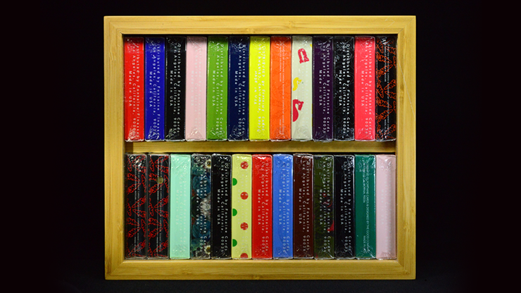 Carat B24 Bamboo Double Brick Box - Kartenbox