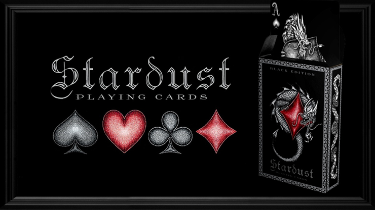 Stardust Black Edition Playing Cards
