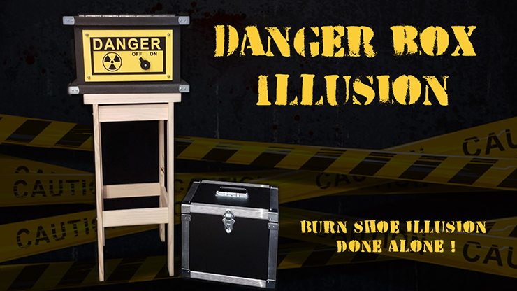 DANGER BOX ILLUSION (Full Set) by Magie Climax