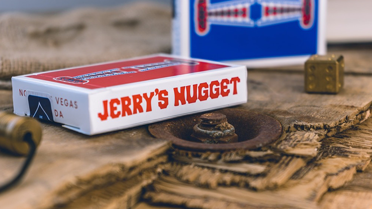 Jerry's Nuggets Shim Card (Blue) by The Hanrahan Gaff Company