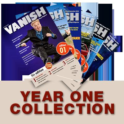 VANISH Magazine by Paul Romhany  (Year 1) eBook DOWNLOAD