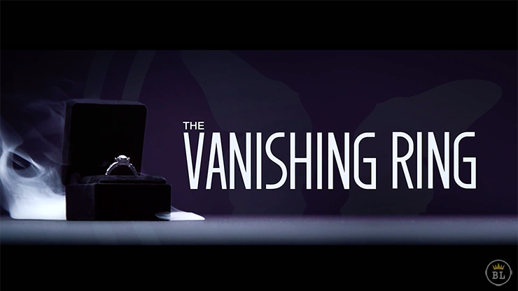 Vanishing Ring Black(Gimmick and Online Instructions) by SansMinds