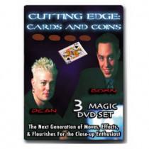 Cutting Edge Cards & Coins 3 DVD Set - Born Dean