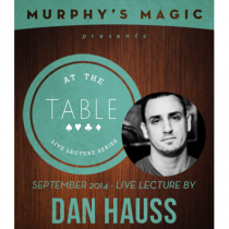 At the Table Live Lecture - Dan Hauss 9/10/2014 - video DOWNLOAD