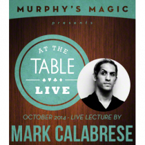 At the Table Live Lecture - Mark Calabrese 10/29/2014 - video DOWNLOAD