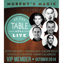 At The Table VIP Member October 2014