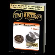 Boston Coin Box (2 Euro Aluminum) by Tango -Trick (A0006)