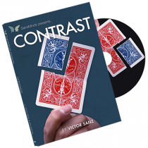 Contrast (DVD and Gimmick) by Victor Sanz and SansMinds - DVD
