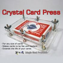 Crystal Card Press by Hondo & Fon