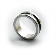 Magnetic ring - Dark line - Medium (19 mm)  /  Magnetischer Ring