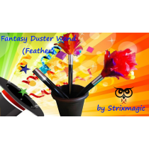 Fantasy Duster Wand (Feather) by Strixmagic