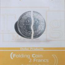 2 Franken Faltmünze (traditionelles System) - Folding coin