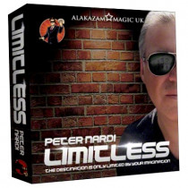 Limitless (3 of Clubs) DVD and Gimmicks by Peter Nardi