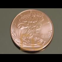 KUPFER MÜNZE - WALKING LIBERTY Eagle Adler Copper Coin