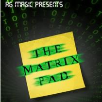 The Matrix Pad (DVD & Gimmicks) by Richard Griffin