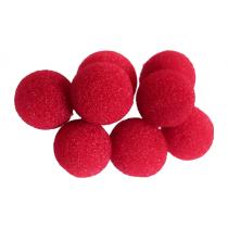 "0.75"" Mini Super Soft Sponge Ball (Red) Bag of 8 from Magic by Gosh"