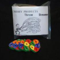 Throw Streamers Cresey (rainbow)