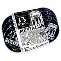 13 Steps To Mentalism (6 DVDs) - Richard Osterlind (DVD)
