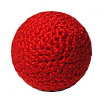 Metal Crochet Balls by Bazar de Magia Häkelball rot 2.5 cm mit Metalleinlage