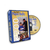 Paper Balls Over the Head 2200 from Tony Clark (DVD)
